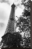 Eiffel II Opspændt lærredstryk af Tom Artin