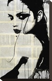 Phoenix Stretched Canvas Print by Loui Jover