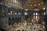 Turkey, Istanbul, Hagia Sophia, Interior Photographic Print by Samuel Magal