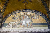 Turkey, Istanbul, Hagia Sophia, Mosaic Above the Imperial Gate Impressão fotográfica por Samuel Magal