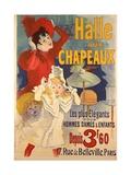 Halle Aux Chapeaux Giclee Print by Jules Chéret