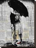 Hopeless Romantics Stretched Canvas Print by Loui Jover