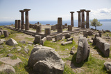 Turkey, Assos, Temple of Athena Photographic Print by Samuel Magal