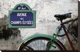 Paris au champs Reproducción en lienzo de la lámina por Sven Pfrommer