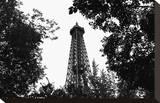 Eiffel I Toile tendue sur châssis par Tom Artin