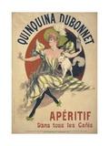 Quinquina Dubonnet Giclee Print by Jules Chéret