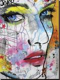 Bam Bam Stretched Canvas Print by Loui Jover