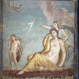 Italy, Naples, Naples Museum, from Pompeii, House of Meleager (VI 9, 2.13), Abandoned Ariadne Photographic Print by Samuel Magal