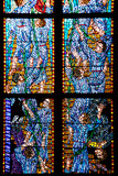 Prague, St. Vitus Cathedral, Chapel of St Agnes of Bohemia, Stained Glass Window Photographic Print by Samuel Magal