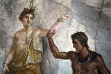 Italy, Naples, Naples Museum, from Pompeii, House of the Dioscuri (VI, 9, 6), Perseus and Andromeda Photographic Print by Samuel Magal