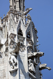 Italy, Milan, Milan Cathedral, Gargoyles Photographic Print by Samuel Magal