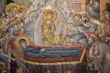Turkey, Istanbul, Chora Church, Mosaic, The Death of The Virgin Photographic Print by Samuel Magal