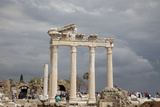 Turkey, Side, Temple of Apollo Photographic Print by Samuel Magal