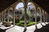 Spain, Toledo, Santa Cruz Museum, Cloister Photographic Print by Samuel Magal