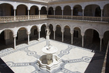 Spain, Andalusia, Sevilla, House of Pilate, Cloister and Fountain Photographic Print by Samuel Magal
