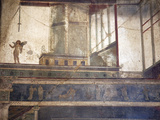 Italy, Naples, Naples Museum, from Pompeii, (VII 6, 28), Cubical 8, Architecture Photographic Print by Samuel Magal