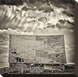Storm Rolling In Reproduction transférée sur toile par Trent Foltz