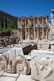 Turkey, Ephesus, Library of Celsus Photographic Print by Samuel Magal