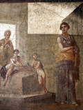 Italy, Naples, Naples Museum, from Pompeii, House of the Dioscuri (VI, 9, 6), Medea Photographic Print by Samuel Magal