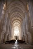 Portugal, Alcobaca, Monastery of Santa Maria De Photographic Print