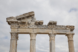 Turkey, Side, Temple of Apollo, Photographic Print by Samuel Magal
