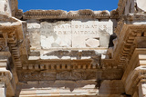 Turkey, Ephesus, Library of Celsus, Relief Photographic Print by Samuel Magal