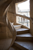 Portugal, Ribatejo Province, Tomar, Convent of the Knights of Christ, Spiral Staircase Photographic Print by Samuel Magal