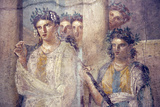 Italy, Naples, Naples Museum, from Pompeii, Caecilius Lucundus House (V 1, 26), Iphigenia in Tauris Photographic Print by Samuel Magal