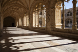 Portugal, Lisbon, Santa Maria de Belem, Hieronymite Monastery, Arched Cloister Gallery Photographic Print by Samuel Magal