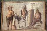 Italy, Naples, Naples Museum, Casa d'Adonide or della Regina Carolina, Pompeii, Chiron and Apollo Photographic Print by Samuel Magal