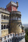 Portugal, Lisbon Region, Sintra, Pena National Palace Photographic Print by Samuel Magal