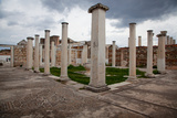 Turkey, Sardis, Synagogue, Columns Photographic Print by Samuel Magal