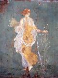 Italy, Naples, Naples Museum, from Stabia, Villa of Varanus or Ariadne, Flora (Khloris) Fotografie-Druck von Samuel Magal
