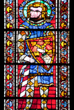 France, Alsace, Strasbourg, Strasbourg Cathedral, Stained Glass Window, Saint Marcus (Dux) Photographic Print by Samuel Magal