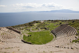 Turkey, Assos, Theater Photographic Print by Samuel Magal