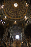 Italy, Siena, Siena Cathedral, Dome Ceiling, Interior Photographic Print by Samuel Magal