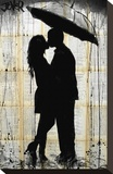 Rain Series No. 2 Stretched Canvas Print by Loui Jover