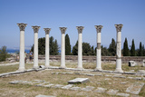 Greece, Kos Islands, Askelepieon, Colonnade Photographic Print by Samuel Magal