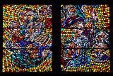 Prague, St. Vitus Cathedral, Schwarzenberg Chapel, Stained Glass Window Photographic Print by Samuel Magal