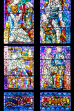 Prague, St. Vitus Cathedral, Thunov Chapel, Stained Glass Window, Psalm 126:5, Central Section Photographic Print by Samuel Magal