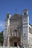 Spain, Valladolid, San Pablo Church, Main Facade Photographic Print by Samuel Magal