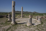 Tunisia, Thuburbo Majus, Temple of Mercury I Stampa fotografica