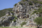 Turkey, Myra, Lycian Tombs Photographic Print by Samuel Magal