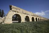 Tunisia, Zaghouan, Aqueduct Stampa fotografica