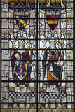 England, Salisbury, Salisbury Cathedral, Stained Glass Window, The Bishops Bingham and Poor Photographic Print by Samuel Magal