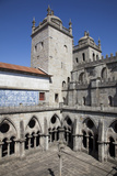 Portugal, Porto, The Church of Saint IIdefonso, Cloister Photographic Print by Samuel Magal