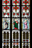 Prague, St. Vitus Cathedral, Stained Glass Window, St Gisela, St Paul, St Rudolph Photographic Print by Samuel Magal