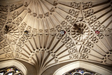 England, Somerset, Bath, Bath Abbey, Ceiling Pendant Photographic Print by Samuel Magal