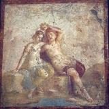 Italy, Naples Museum, from Pompeii, Capitelli Colorati House (VII 4,51-31), Perseus and Andromeda Photographic Print by Samuel Magal