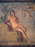 Italy, Naples, Naples Museum, from Pompeii, House of Meleager (VI 9, 2.13), Ganymede Photographic Print by Samuel Magal